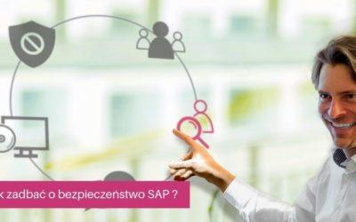 Jak zadbać obezpieczeństwo SAP wtrzech krokach?