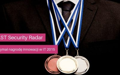SAST Security Radar otrzymał nagrodę innowacji wIT 2015