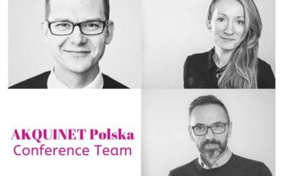 Konferencyjna jesień wAkquinet Polska
