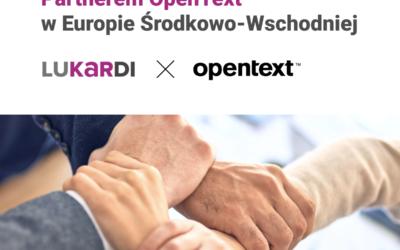 Lukardi S.A. Strategicznym Partnerem OpenText™ wEuropie Środkowo-Wschodniej.